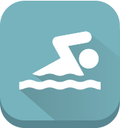 icon of swimming
