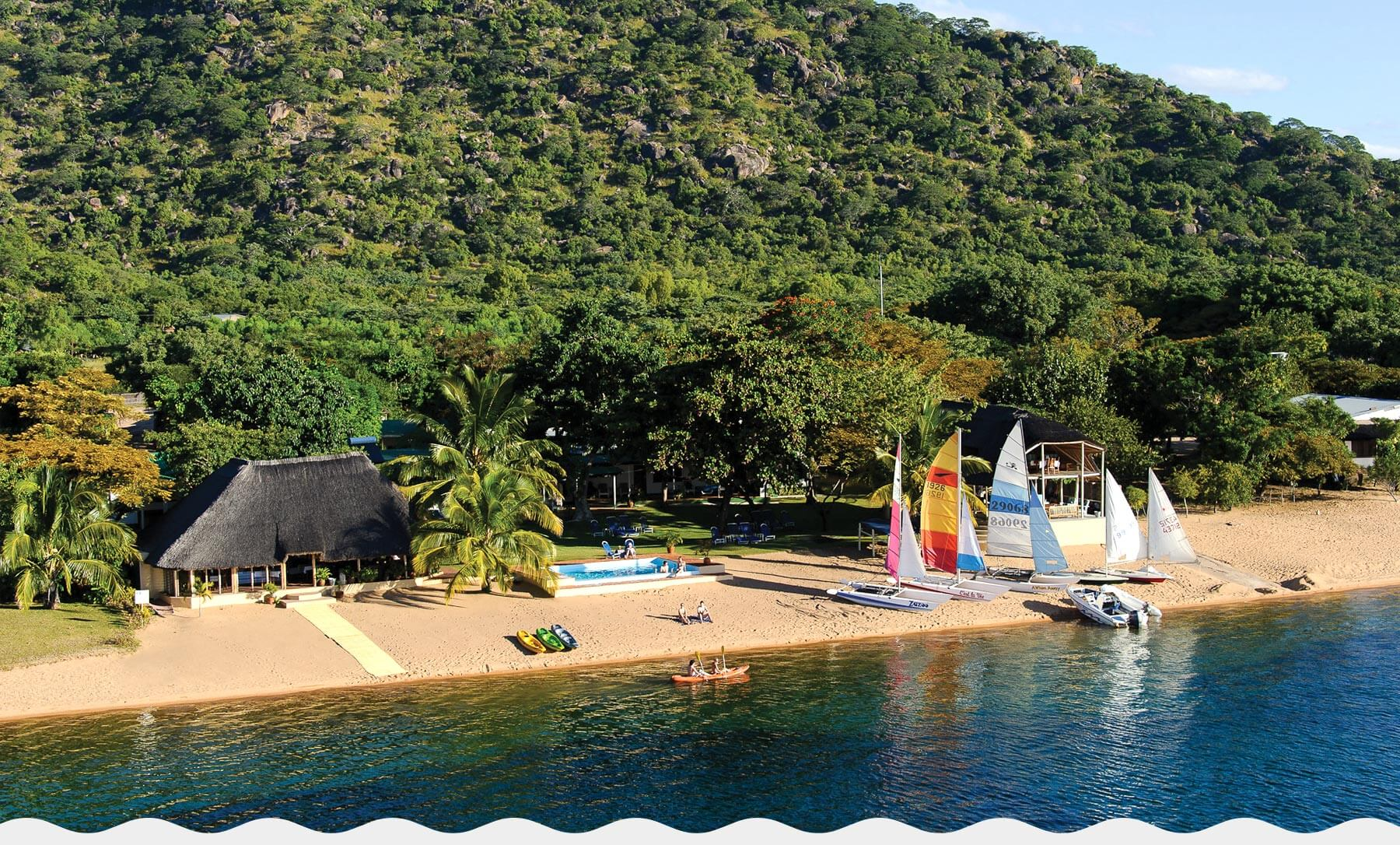 Lake Malawi Accommodation Cape Maclear Lodge